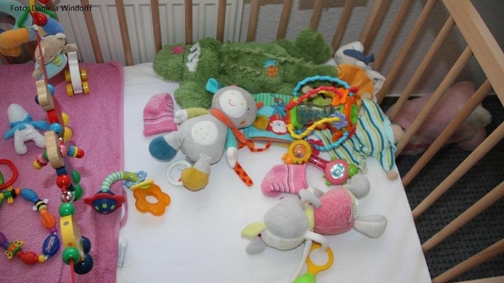 Behütetes Nest für Babys in Not